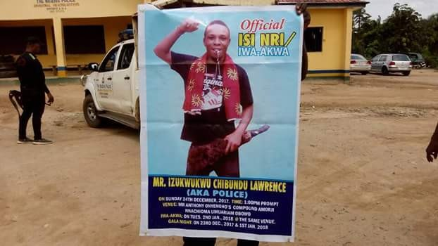 """Photos: Jubilation in Imo community as notorious armed robbery kingpin """"Police"""" is arrested"""
