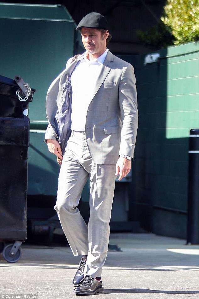 Brad Pitt looks happy as he steps out in LA amid custody battle drama with ex Angelina Jolie (Photos)