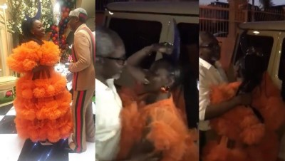 Femi Gbajabiamila surprised wife with 'Assurance' Mercedes Benz G-Wagon