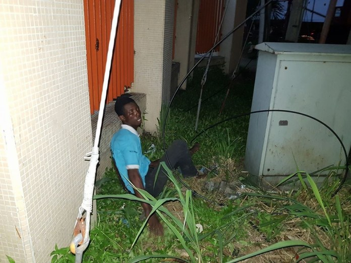 Man gets electrocuted while attempting suicide in Port Harcourt (Photos)