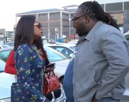 Hilarious video of Olajumoke and DJ Humility