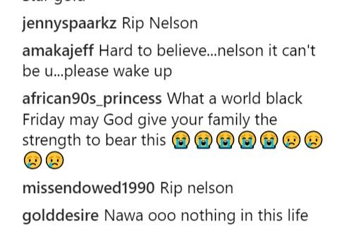 Family and friends mourn?Nollywood actor, Nelson Gold who?slumped and died 10?days after his 26th birthday