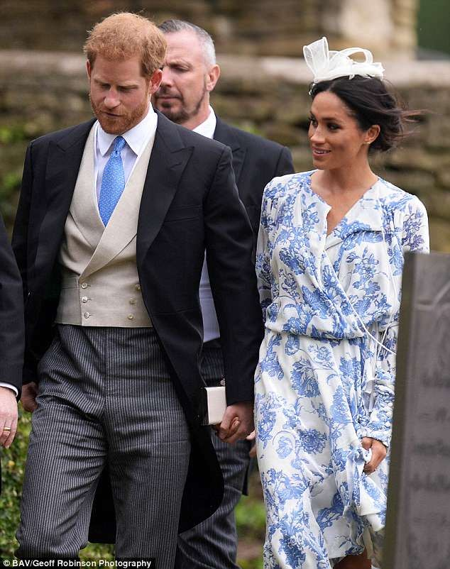 Meghan Markle and Prince Harry steal the show as they attend the wedding of Princess Diana