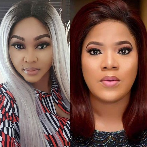 Actress Toyin Abraham apologises to Mercy Aigbe weeks after their IG spat
