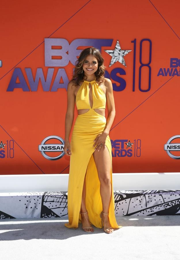 See stunning red carpet photos from 2018 BET Awards