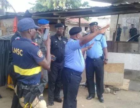 Three people arrested as Lagos State police bust OPC torture shrine under Opebi bridge (Photos)