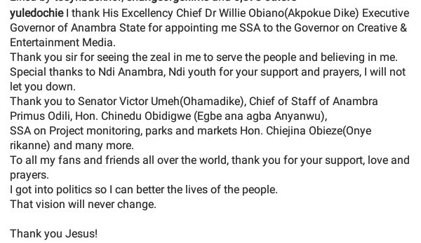 Nollywood actor, Yul Edochie appointed SSA on Creative & Entertainment Media to Governor Obiano