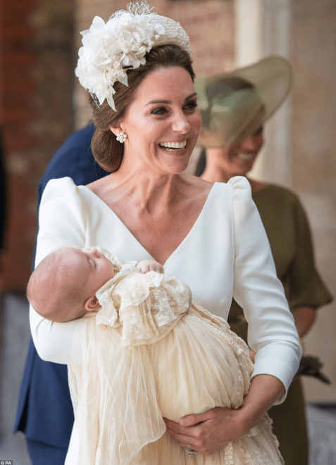 Photos/video of members of the Royal family at Prince Louis  Photos of members of the Royal family at Prince Louis' christening today 5b438a90b5c2b
