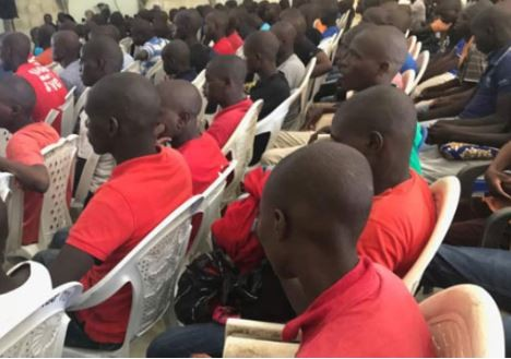 Nigerian Army hands over 183 teenagers working for Boko Haram to the United Nations