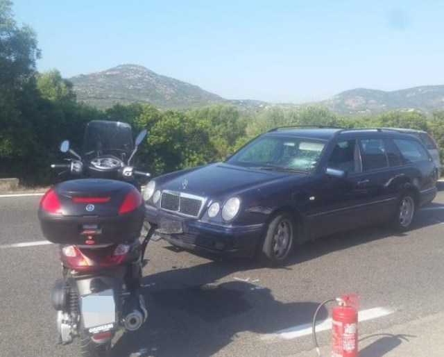 Actor George Clooney injured in road accident as bike collides with car in Sardinia (Photo)