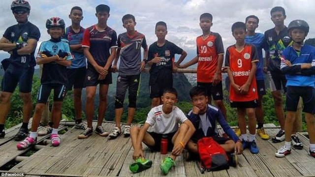 Eleven of the Thai boys trapped in cave are now rescued leaving just one more and their football coach to be freed