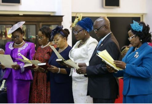 Governor Ambode swears in six new permanent secretaries (Photos)