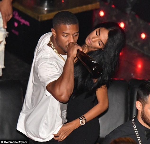 Black Panther star Michael B. Jordan parties with rumored girlfriend Ashlyn Castro at St Tropez club (Photos)