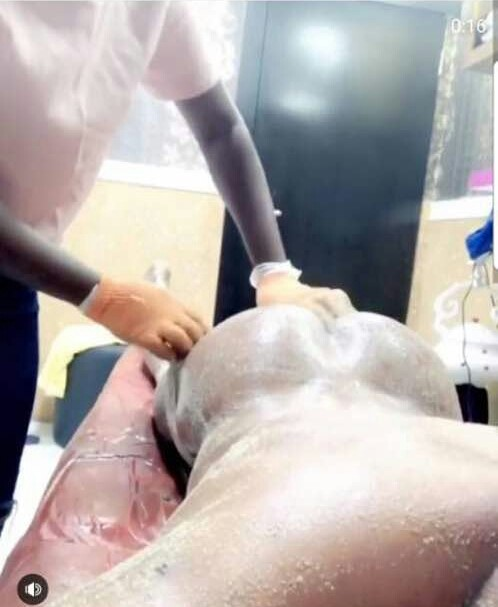 Bobrisky shows off his bare butt to prove he doesn