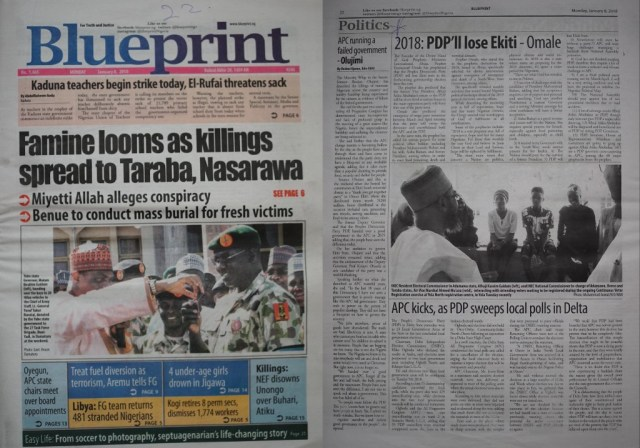Prophet Emmanuel Omale prophesied PDP