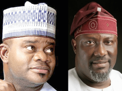 Governor Bello condemns burning of Dino Melaye
