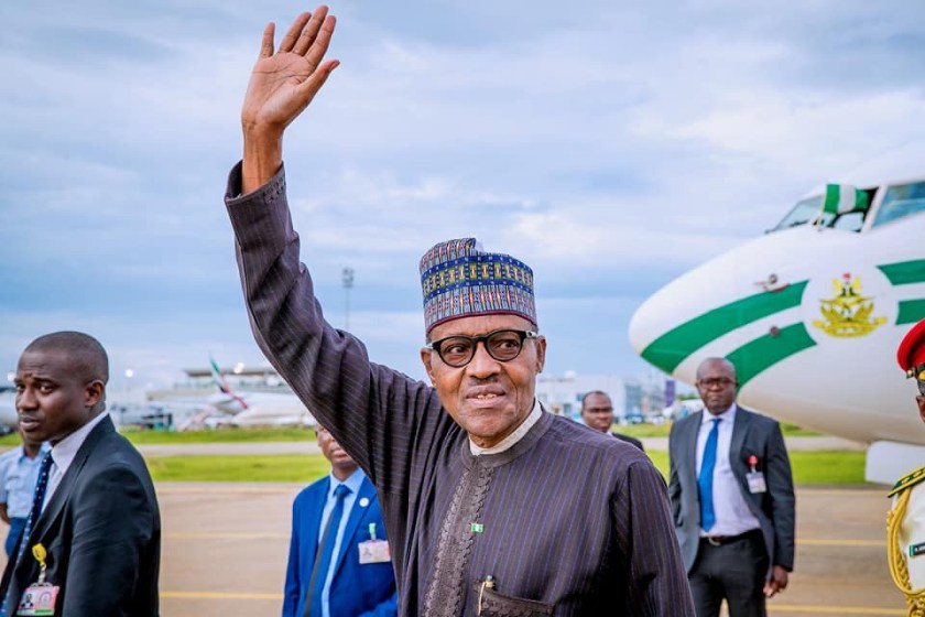 President Buhari returns to Abuja after a 3-day official visit to the Netherlands (Photos)
