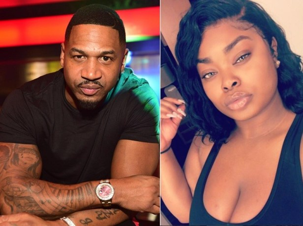 Lady accuses newly married Stevie J of impregnating her, shares photo of him sleeping on her bed?