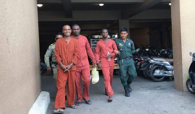 Two Nigerian men sentenced to life in prison and 30 years for drug trafficking in Cambodia