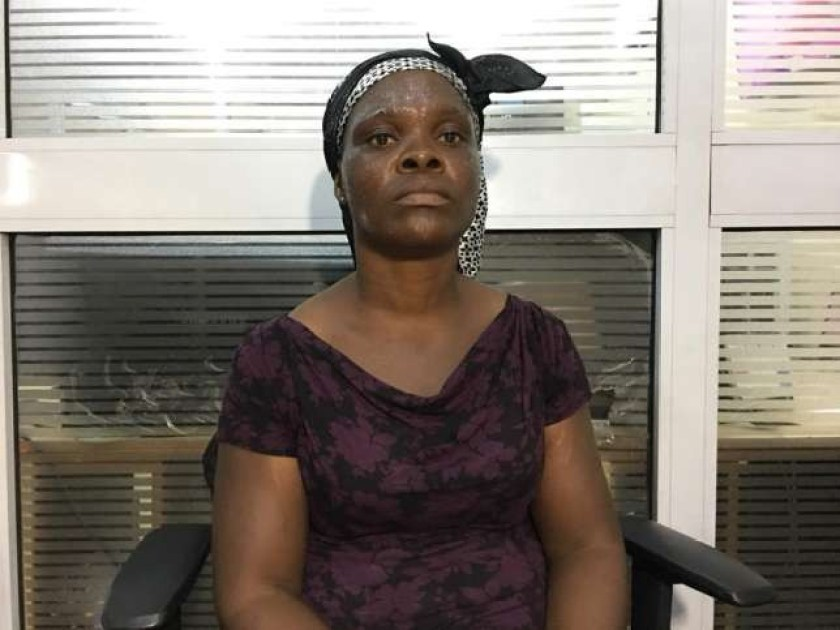 Nursing mother who was brutally assaulted by a police officer in Ghana gets cash donations of over N2m from compassionate Ghanaians?