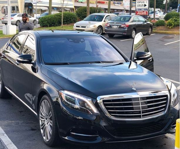 Photos: Nigerian singer, Morachi shows off his newly acquired Mercedes Benz S-Class worth N30million