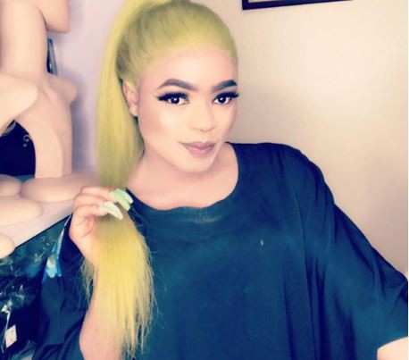 Image result for (Video) During airport search, only women can search me to avoid sexual harassment – Bobrisky