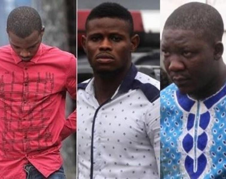 EFCC arraigns three Yahoo boys for N1.5m fraud in Lagos (Photo)