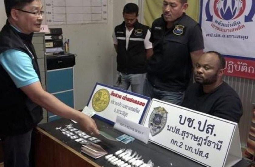 Nigerian drug suspect arrested in Thailand after leading police in a wild chase