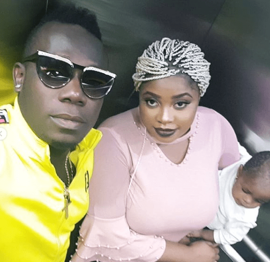 Duncan Mighty reacts to reports of him assaulting his wife + shares photos of him kissing her
