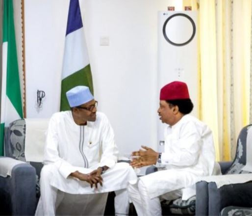 Senator?Shehu Sani holds closed door meeting with President Buhari in Daura (Photos)