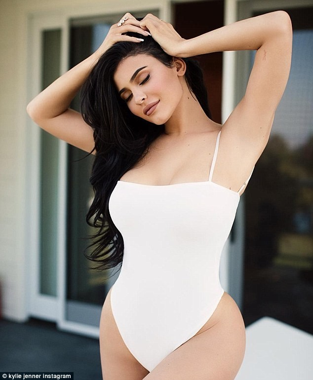 Kylie Jenner shows off her curvaceous body in sexy swimwear photos