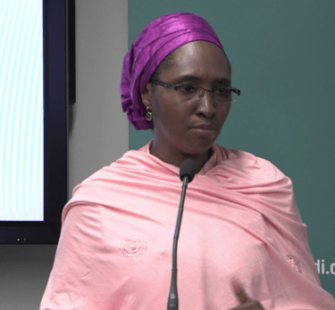 Meet the acting Minister of Finance, Zainab Ahmed
