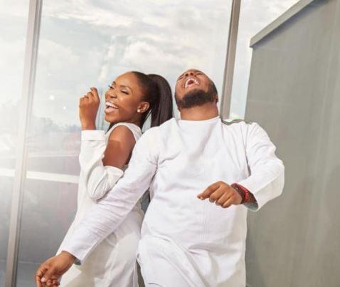 Nollywood actress, Lala Akindoju and celebrity?Chef, Gbubemi Fregene wed today (photos)