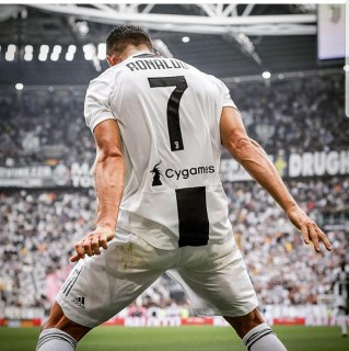 Cristiano Ronaldo finally breaks goal drought at Juventus, scores a brace against Sassuolo (Videos)