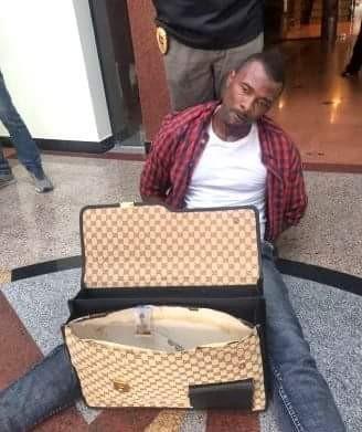 Photos: Nigerian man, Thai woman, New Zealand man nabbed in Bangkok drug bust