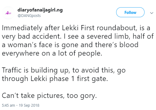 Passengers feared dead in alleged ghastly accident in Lekki