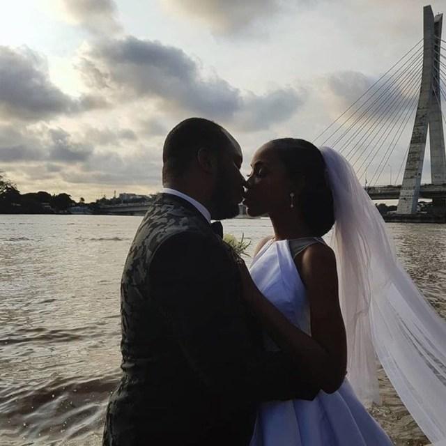Photos/Video from actress Lala Akindoju and Chef Fregz