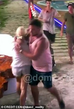 Female reality star beats up lady on live TV for going on date with her husband (video)