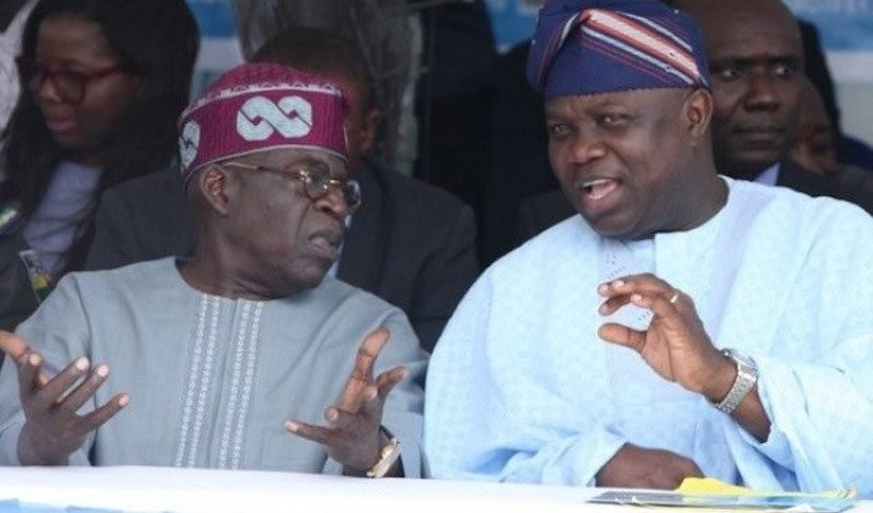 Lagos 2019: Tinubu releases official statement, rejects Ambode and formally endorses Sanwo-Olu