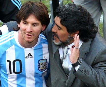 Diego Maradonaadvises Lionel Messi to retire from the national team