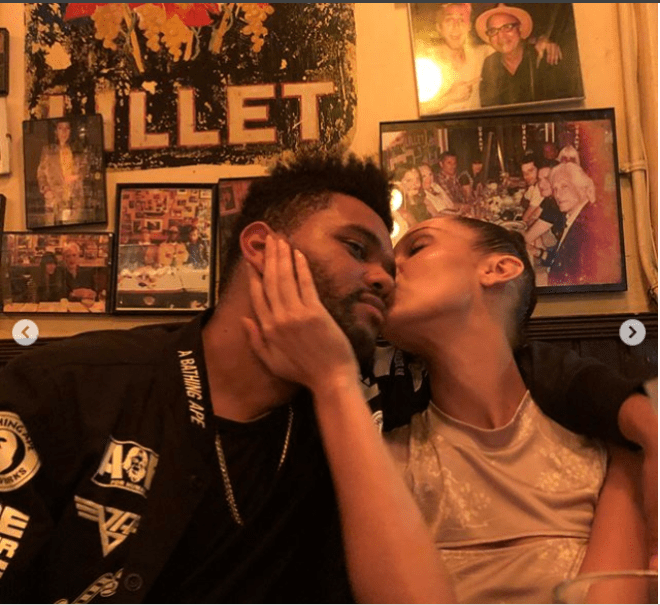 The Weeknd shares never-before-seen PDA-filled photos for his girlfriend Bella Hadid
