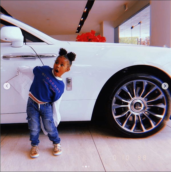 Teyana Taylor buys herself a brand new Rolls Royce Dawn (Photos)