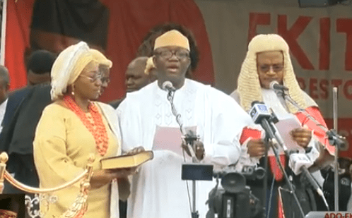 Photos: Kayode Fayemi sworn in as governor of Ekiti state