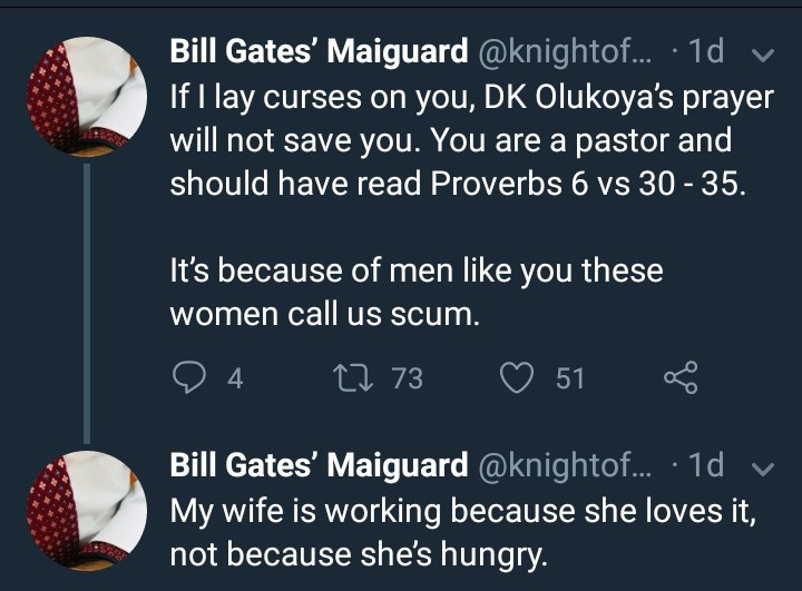 Twitter user calls out billionaire pastor who tried to make a move on his wife