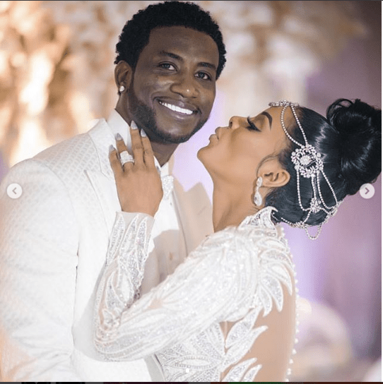 Rapper Gucci Mane and wife Keyshia Ka