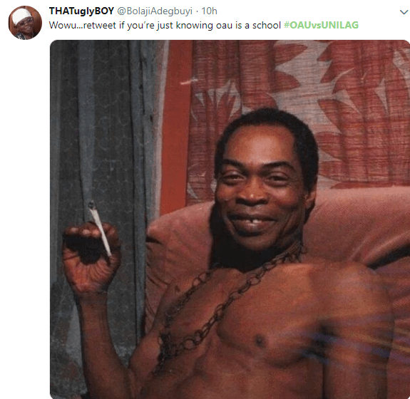 Students of OAU and UNILAG are dragging each other on Twitter and the tweets are hilarious?(Screenshots)