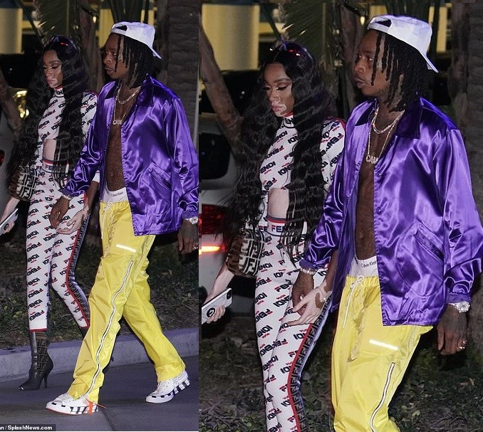 5bcc51e2a1c14 - Wiz Khalifa and his new girlfriend Winnie Harlow step out together in LA (Photos)