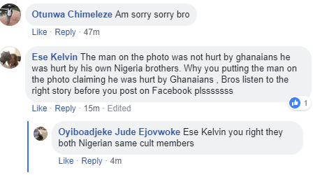 Blood flows as fight breaks out in a popular Nigerian bar in Ghana (graphic photo)