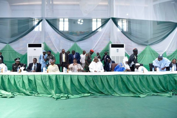 Photos: President Buhari visits Kaduna to intervene in different religious/communal crises