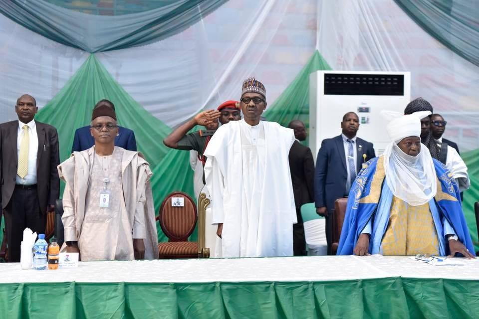 Photos: President Buhari visits Kaduna to intervene in different religious/communal crises
